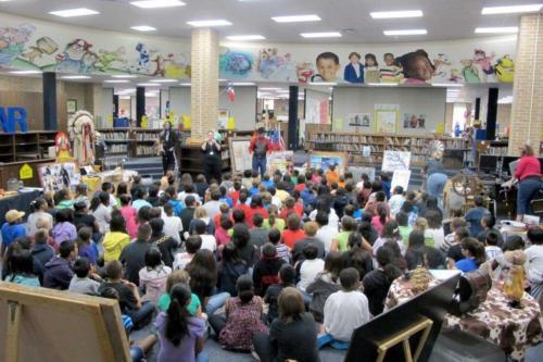 prestonwoodforestud hancock elementary water texas history program 201205 2