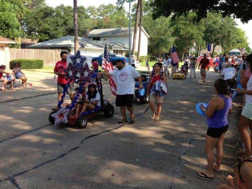 prestonwoodforestud july 4th parade 2013 34