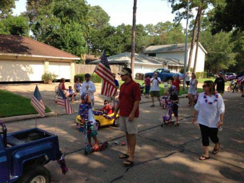 prestonwoodforestud july 4th parade 2013 35
