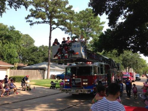 prestonwoodforestud july 4th parade 2013 46
