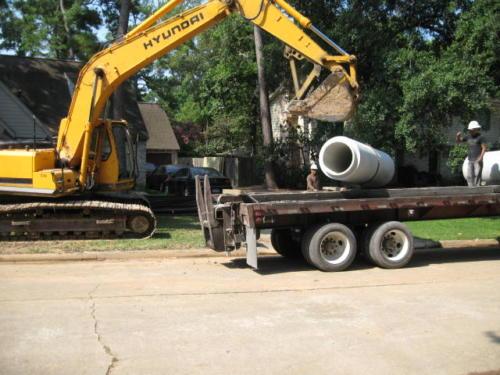 prestonwoodforestud storm sewer construction camborne lane 201206 1