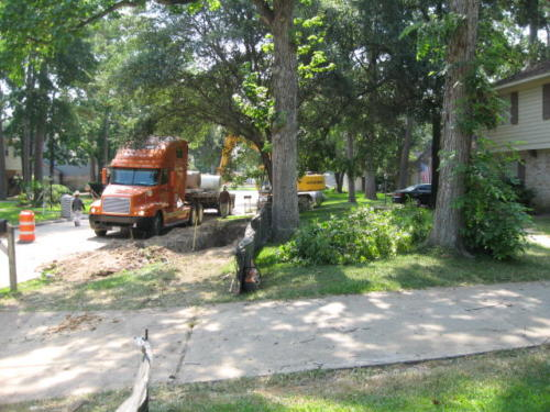 prestonwoodforestud storm sewer construction camborne lane 201206 15