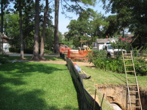 prestonwoodforestud storm sewer construction camborne lane 201206 16