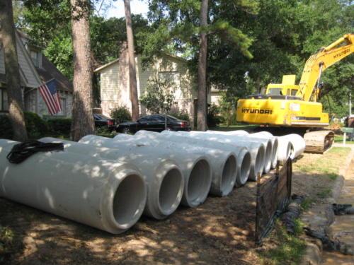 prestonwoodforestud storm sewer construction camborne lane 201206 21