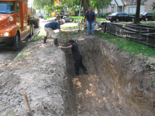 prestonwoodforestud storm sewer construction camborne lane 201206 3