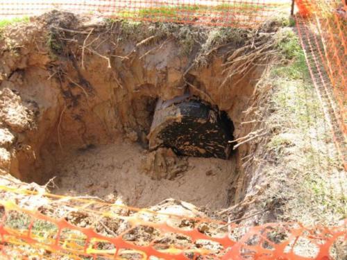 prestonwoodforestud storm sewer construction camborne lane 201206 7