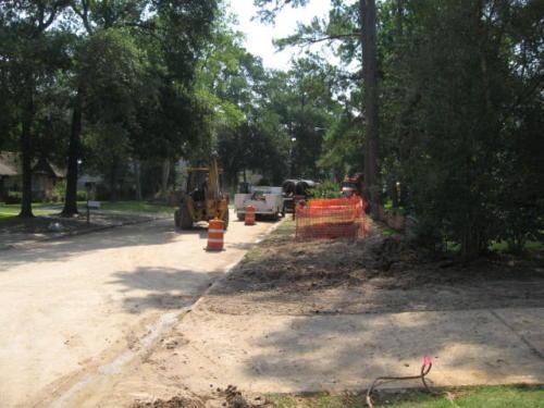 prestonwoodforestud storm sewer construction camborne lane 201206 9